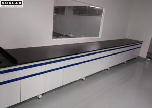 China Scratch Resistance Modular Lab Furniture DTC105 DEG Hinges Convenient Installation on sale