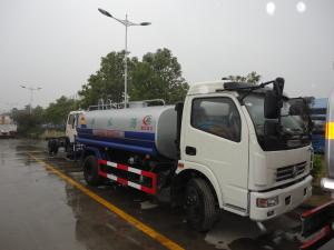 China factory sale best price 7,000Liters water tank truck, 2017s cheapest price dongfeng 4*2 LHD/RHD 7m3 cistern truck on sale
