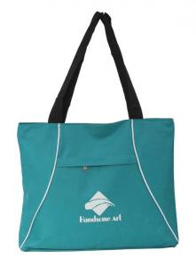 China Ladies Polyester Tote Shopping Bag Foldable Reusable Shopping Bags Personalised on sale