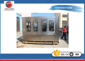 Quality 8KW Automatic Water Filling Machine , Small Plastic Bottle Monoblock Filling Machine for sale