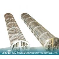 ASTM B338 / B337 Alloy Titanium Heat Exchanger Tube GR1 / GR2 / GR3 For Seawater Equipment
