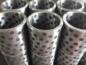 Steel(FC250&HT250&45#) bushing with solid lubricant graphite FGB