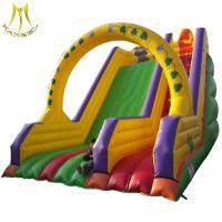 Hansel cheap inflatable kids bouncing castle slide inflatable slide 2018