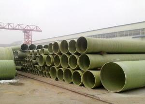 China Fiberglass High Strength FRP Winding Cable Protection Pipe/Grp products on sale
