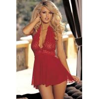 Sexy Lingerie Wholesale  Floral Lace Babydoll Lingerie Set Sexy Babydoll Lingerie Chemises wholesale from manufacturer
