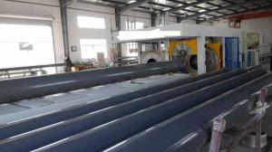 China Automatic PVC pipe belling machine/socket machine on sale