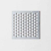 Galvanized Square Hole Perforated Sheet For Audio Speaker Grilles