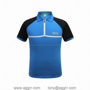 China Hugo Boss men T-shirt 2017 boss polo shirts quality wholesale brand clothing t shirts on sale