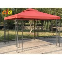 Steel Frame Backyard Gazebo Tent , Pop Up Gazebo Canopy Outdoor Furniture