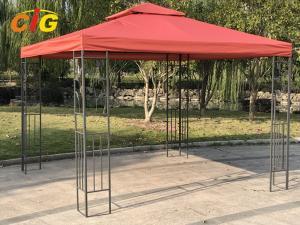 China Steel Frame Backyard Gazebo Tent , Pop Up Gazebo Canopy Outdoor Furniture on sale