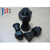 Zinc Plated Plow Cutting Edge Bolts and Nuts 3F5108 / 02090-11060 for Excavator