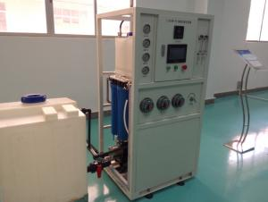 China RO desalinate seawater system for water filtration plant 2.4TPD in marine on sale