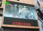 P10 custom sized led video wall outdoor fixed big advertising display screen