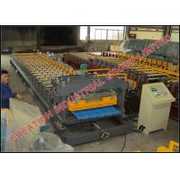 Pre-painted Aluminum Step Tiles Roof Sheet Corrugation Machine with Automatic Decoiler and Cutting Equipment