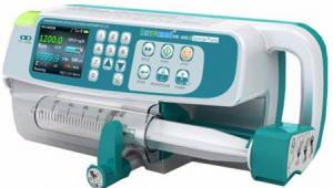 China CE Qualified Medical Dual Channel Syring Pump/Syringe Pump Used in OR ICU CCU on sale