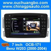Ouchuangbo S100 DVD GPS navigaiton radio headunit Mercedes Benz W203 2000-2004 BT WIFI USB