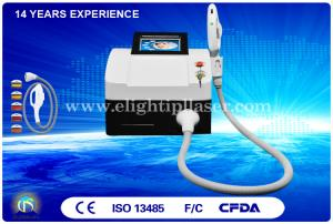 China Home Used IPL Hair Removal Machine , White Portable Mini IPL Machine 3 in 1 on sale