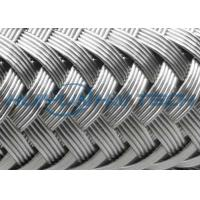 High Grade Stainless Steel Braided Hose Sleeve 0.10 - 0.30mm Easy Installation