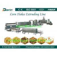 Fully Automatic Breakfast Cereal Corn Flakes Processing Line / making machine