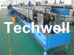 Custom Automatic Guardrail Post Roll Forming Machine With Welded Structural Steel TW-SG100
