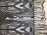 60 Inch Guipure Nylon Eyelash Lace Trim Geometry Pattern Normal Dyeing