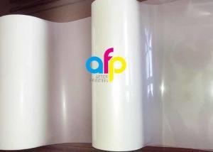 China Transparent Matte Lamination Film PET Film Base EVA Glue 12 - 350 Micron on sale