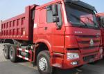 ZZ3257M3857A Heavy Duty Dump Truck EURO 2 290HP All Drive 6x6 25 Ton Tipper Truck