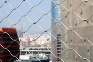 China Balustrade / Railing Wire Mesh , Stainless Steel Cable Netting Wire Mesh on sale