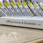 32/64 Bit Microsoft Office Home And Business 2019 DVD Package Full Version