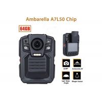 Remote Control Security Body Camera Ip67 Water Proof With 1296P IR LED Light
