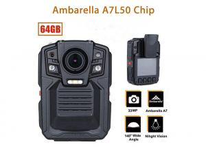 China Remote Control Security Body Camera Ip67 Water Proof With 1296P IR LED Light on sale