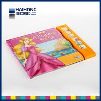 Full color 6 sound buttons music book printing and glossy lamination or Spot UV
