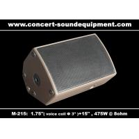 China 475W Disco Sound Equipment 1.75 + 15 Stage Monitor on sale