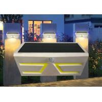 Durable Solar Powered Motion Sensor Lights Outdoor , Solar Exterior Wall Light Fixtures