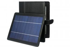 China Waterproof Green Solar charger panel iphone , ereader Ipad3 Bluetooth Keyboard Case on sale