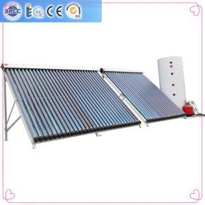 China Les tubes évacués d'alliage d'aluminium dédoublés ont pressurisé les chauffe-eau solaires on sale
