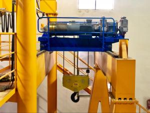 China Crane Electric Wire Rope Trolley Hoist Slow Electric Winches JM32T High Durability on sale