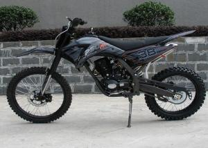 China 250cc Dirt Bike Motorcycle Black With Manual Transmission 8L Oil Tank on sale