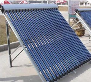 China Collecteur pressurisé d'appareil de chauffage solaire de caloduc on sale
