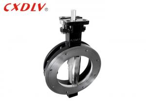 China JIS Double Effect Butterfly Valve Wafer Type Automatic Control Lug Carbon Steel on sale