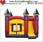 High quality gaint PVC Inflatable bouncer castle toys with slide