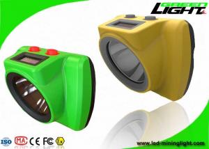 China 25000Lux Cordless Mining Cap Lights Impact Resistant Handy Switch Personal Safety Tracking on sale