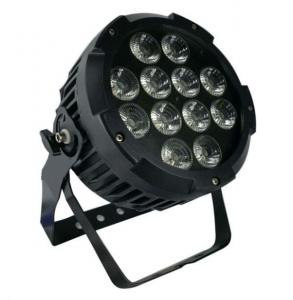 China IP65 12pcs * 12w 4 in 1 RGBW Outdoor LED Par With Aluminum Die-Cast Housing on sale