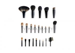 China Private Label Deluxe Natural Hair Makeup Brushes Custom Top Rated Makeup Brushes on sale