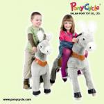 Juguete del potro de la felpa de PonyCycle