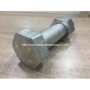 China Power Plant Galvanized Hex Bolts , Stainless Steel Metric Carriage Bolts on sale