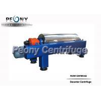 2 Phase Continuous Decanter Centrifuge Horizontal Fruit Juice Decanter Centrifuge