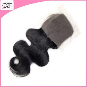 China 120% Density High Quality 4x4 Free Part Lace Closure Top Selling Remy Lace Closure on sale