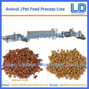 China Cat,dog ,fish treats /pet food Processing Equipment on sale