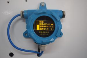 China Industrial Liquid Level Meter , Explosion Proof Blue Tank Level Meter on sale